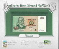 World Banknotes Finland 1980 10 Markkaa P 111a.26 UNC Kullberg - Puntila