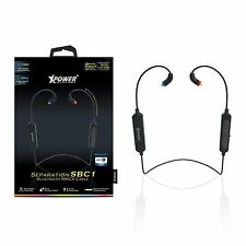 Xpower SBC1 Separation IPX4 Bluetooth mic noise cancelling Black MMCX Cable only