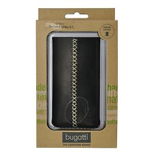 Bugatti Handytasche Cross, 07938, schwarz für Galaxy S2 i9100, case, cover