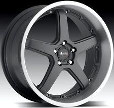 20x9.5 Advanti Racing Traktion 5x114.3 ET25 Matte Gun Metal Rims Wheels