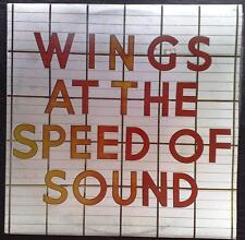 LP WINGS AT THE SPEED OF SOUND McCartney PAS-10010 1976 Album Capitol Records