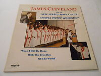 JAMES CLEVELAND  AND NEW JERSEY MASS CHOIR ,SAVOY ,83,COVER>Vg+++,REC. Vg++