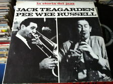 JACK TEAGARDEN PEE WEE RUSSELL  disco LP 33 giri LA STORIA del JAZZ 1971  ITALY