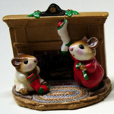 = my Wee Forest Folk - For Sale is One (1) WFF CHRISTMAS MORNING (M-092)