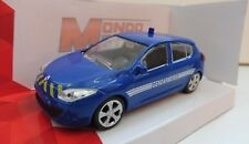 Renault Mégane 5 Portes Gendarmerie Mondo Motors 1/43 Neuf boite d'origine