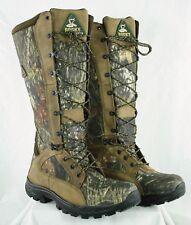 Rocky 1570 Waterproof Snakeproof Mossy Oak Camo Hunting Boots Mens