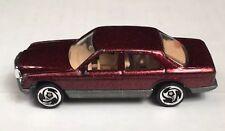 Vintage 1991 Hot Wheels Mercedes Benz 380 SEL Metallic Maroon Toy Diecast Car