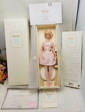 Lingerie Silkstone Barbie Doll 2001 BLONDE #4 Fashion Model LE 55498 NRFB w/COA!