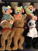 ty beanie babies lot! All Retired & All Very Rare!!! Welcome All Offers!!! +xtra