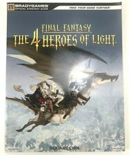 Final Fantasy The 4 Heroes of Light Nintendo DS Strategy Guide Players Hint Book