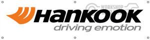 HANKOOK TYRES  BANNER FOR WORKSHOP - CAR CLUB - MAN CAVE