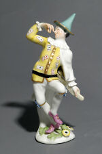 Meissen Commedia dell'arte Figure of Harlequin, Weissenfeld series circa 1744