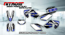 HUSABERG Graphics Kit Decals Design Stickers FS 450 550 650 2006 2007 2008 MX