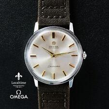 1962 OMEGA [Suisse] Seamaster ref. 165.001 Acier Robe watch cal. 552 SN#1998xxxx