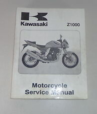Workshop Manual/Workshop Manual Kawasaki Z 1000, Stand 2002