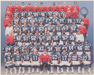 1986 NEW YORK GIANTS NFL SUPER BOWL XXI CHAMPIONS 8X10 TEAM PHOTO PICTURE