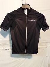 Louis Garneau Elite M-2 Cycling Jersey Men's Medium Black Retail $149.99