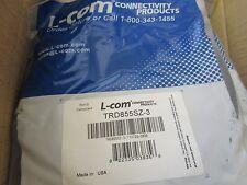 L-COM  Model: TDR855SZ-3 Cat5E Cable.  3 Feet.  New Old Stock <