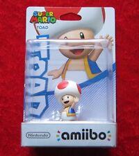 Toad amiibo personaje, Super Mario Collection, nuevo-en su embalaje original