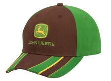 Genuine John Deere Green & Brown Montana Cap Adult Hat Tractor MCJ099399171