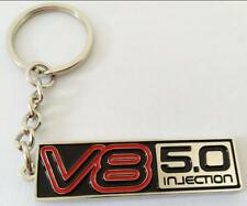VN Commodore SS V8 5.0L Injection KEYRING KeyChain Chrome
