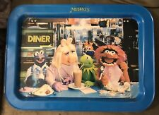 Vintage Jim Henson's Muppets Metal Tv Tray Miss Piggy, Kermit, Gonzo & Animal