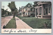 East Avenue WOODSTOWN NJ Salem County—New Jersey—Antique UDB 1907
