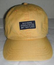 Nice REEBOK Sports ball Cap Hat a dark butter yellow