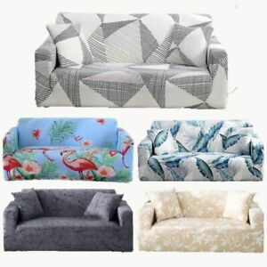 Geometric Pattern Printed Universal Sofa Covers Sectional Couch Corner Cover