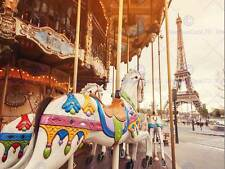 PHOTOGRAPHY CITYSCAPE COMPOSITION EIFFEL TOWER PARIS FRANCE ART POSTER MP3300B
