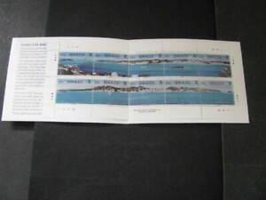 Bermuda Stamp Complete Booklet Scott # 726b Unused Catalog Value $30.00+  Lot 5