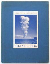 "USS AVERY ISLAND AG-76  1946 ""OPERATION CROSSROADS"" NUCLEAR TEST CRUISE BOOK"