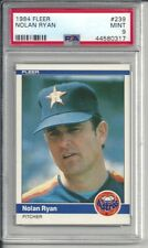 1984 Fleer Nolan Ryan #239 PSA 9 Mint Baseball Card