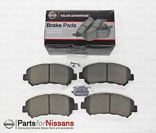 GENUINE NISSAN FRONT BRAKE PADS ROGUE SENTRA OEM