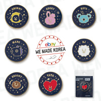 BT21 Character Universtar Circle Metal Badge Official K-POP Authentic Goods