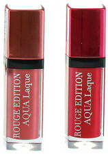 Bourjois Aqua Laque Lipstick Intense Rouge Red Shiny Gloss [2 Shades Available]