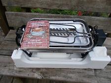 Farberware Stainless Steel Open Hearth Broiler Rotisserie Smokeless Grill 455N