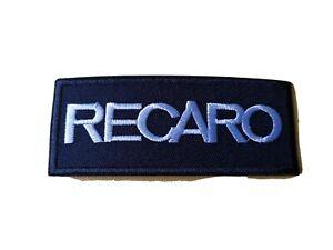 RECARO Motor Racing / Motorsport Patch Sew / Iron On Badge