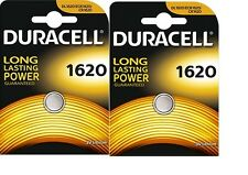 2 batterie Litio 3v DL1620 / CR1620 DURACELL DLC 2024
