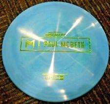 Discraft Prototype Paul Mcbeth Malta Mid Range Disc Golf Blu/Grn 175-6G ~Lsdiscs