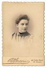 Lovely young woman - by A.S. Green of St Thomas, Ontario