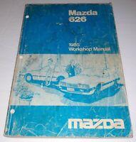 1985 Mazda 626 Workshop Manual Free Shipping MAZDA 1985