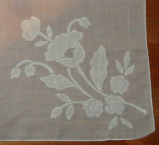 Embroidery English Antique Hankerchiefs