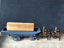 Lancer: British WW1 Pontoon Wagon, Active Service Dress. 54mm