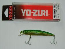 1 artificiale YO ZURI PIN'S MINNOW SW 7 CM 5 GR COL.GM LURES SINKING MI70