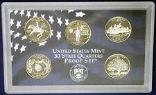 1999 U.S. Mint 50 U.S STATE QUARTERS Proof Set .    As pictured.