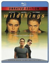 WILD THINGS (1998 Denise Richards) Unrated Version  -   Blu Ray -  Region free