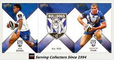 2011 Select NRL Strike Trading Cards Base Team Set Bulldogs (12)