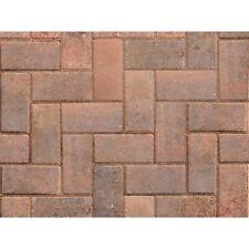 Driveway Block Paving Brindle 200mm x 100mm x 50mm - 9.76m2 - 488 Bricks Pack