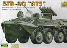 Kitech 1/48 Soviet Russian BTR-80 AT5 APC KIT